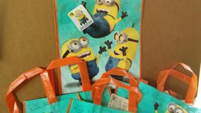 Minions Party Tote Bags (6) in Yorkville, Illinois