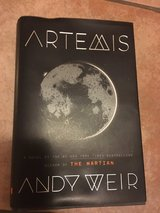 Artemis by Andy Weir - hardback in Ramstein, Germany
