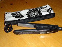 conair mini flat iron/case in Plainfield, Illinois