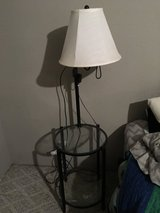 Bedside table with lamp in Alamogordo, New Mexico