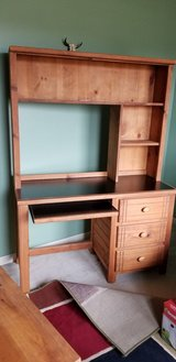 Desk with shelves in Oswego, Illinois