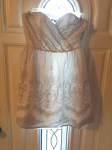 Express strapless dress size 4 in Clarksville, Tennessee