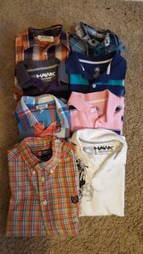 boys polo and button up size 10/12 in Beaufort, South Carolina
