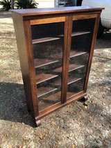 Antique bookcase/ curio cabinet in Moody AFB, Georgia