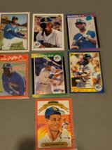 Mint Condition Baseball Cards with protective clear plastic case- in Fort Riley, Kansas