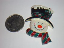 snowman pin in Naperville, Illinois