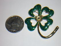 shamrock pin in St. Charles, Illinois
