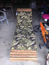 Vintage Chaise Lounger with pad in Fort Campbell, Kentucky