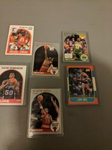 Mint Condition Basketball Cards with protective clear plastic case- in Fort Riley, Kansas
