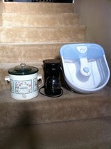Coffee Maker and Foot Bath in Camp Pendleton, California