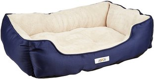 ASPCA Microtech Cuddler Dog Bed, Blue in Chicago, Illinois