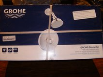GROHE Gloucester Chrome 1-Handle WaterSense Shower Faucet with Single Function in Fort Campbell, Kentucky