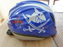 Capt'n Sharky bicycle helmet size M with LED lighting in Spangdahlem, Germany