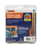 Frost King HC12A Automatic Electric Heat Cable Kit, 12 Feet, Black in Glendale Heights, Illinois