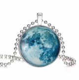Glow In The Dark Magical Fairy Moon Charms Pendant Necklace in Clarksville, Tennessee