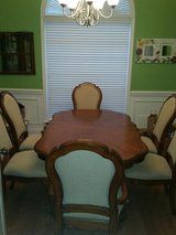 Formal Dining Room table, chairs, china cabinet in Macon, Georgia