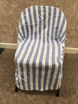 4 card-table chair covers in Plainfield, Illinois