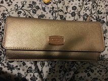 MK gold rose flat wallet in Fairfield, California