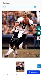 Archie Manning Autographed Photo in Pasadena, Texas