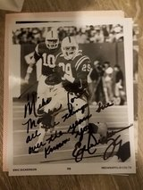 Eric Dickerson Autographed Photo in Pasadena, Texas
