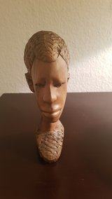 Authentic African figure in Ramstein, Germany