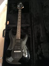 Schecter diamond Series Electric Guitar w/case/amp in Byron, Georgia