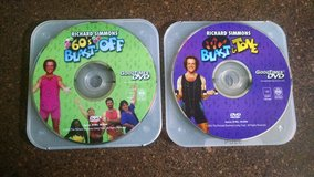 Lot of (2) Richard Simmons Fitness Workouts DVD's in Lawton, Oklahoma
