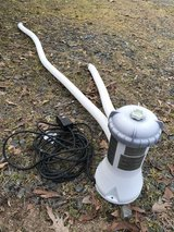 Intex Krystal Clear pool pump (Model 637R) in Fort Polk, Louisiana