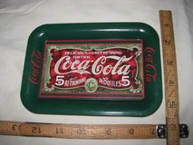 Small Coca-cola tray in Okinawa, Japan