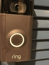 Ring Doorbell security system in Spring, Texas