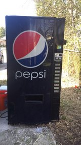 soda machine in Cherry Point, North Carolina