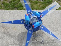 Spaceship Ceiling Fan w/LED Lights in Cherry Point, North Carolina