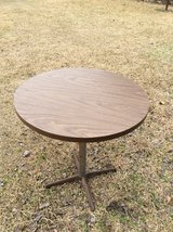 Round Pedestal Table in Fort Polk, Louisiana