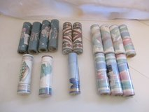 Easy Ups Self Adhesive Wallpaper Border 16 rolls in Alamogordo, New Mexico