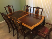 Dining Room Table w/ matching  Hutch in Fort Drum, New York