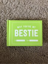 """NEW *Fill in the Blank Gift Book """"Why You're My Bestie"""" in Okinawa, Japan"""