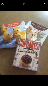 Cupcake Recipe Books in Camp Pendleton, California