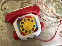 Toy Chatter Telephone Pull Fisher Price Brilliant Basics in Lockport, Illinois