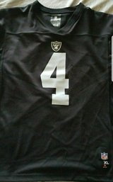 Raiders Derek Carr Jersey in Travis AFB, California