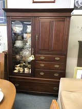 Vintage Cherry Display Cabinet in St. Charles, Illinois