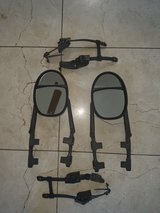 Dual view clip on towing mirrors in Travis AFB, California