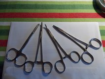 Lot of 4 Hemostats and Scissors in Fort Campbell, Kentucky
