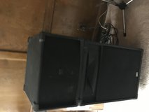 Leslie 2101mk2 and 21 bass speakers in Spring, Texas