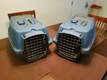 Two Pet Carriers in Fort Lewis, Washington