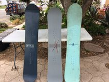 Snowboards in Camp Pendleton, California
