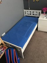 IKEA kids bed. Just frame + base in Bolingbrook, Illinois