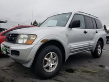 2001 MITSUBISHI MONTERO XLS 4WD 1 owner perfect condition! in Fort Lewis, Washington