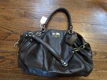 Brown Leather Coach Purse in Fort Campbell, Kentucky