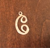 'C' Pendant/Charm in St. Charles, Illinois