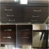 dresser/ 2 nightstands/mirror in Alamogordo, New Mexico